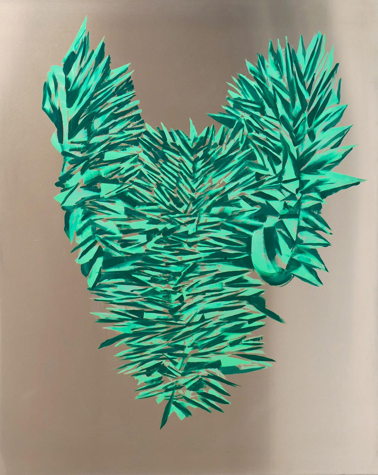 Green armor - Isabel Gómez Liebre