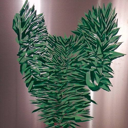 Armadura verde - Isabel Gómez Liebre