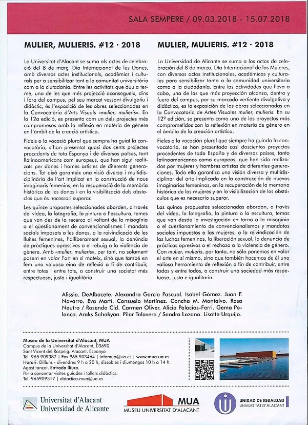 El Mundo - Reportage Liliput - Mulier Mulieris