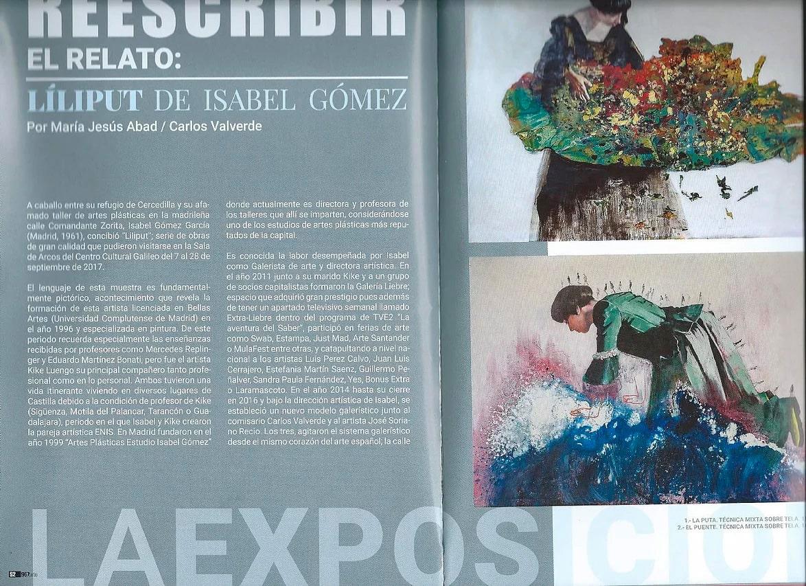 Exposición Liliput - Isabel Gómez Liebre