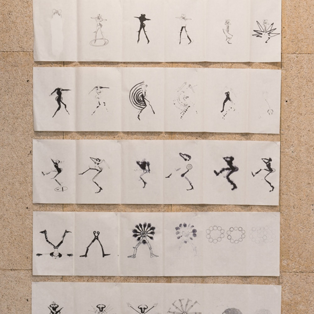 Consecutive Drawings - Isabel Gómez Liebre