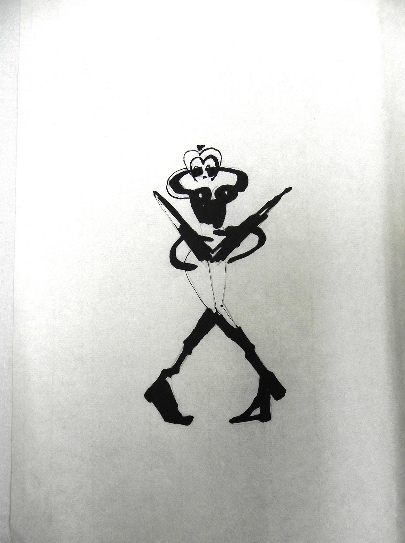 Consecutive Drawings 1D - Isabel Gómez Liebre