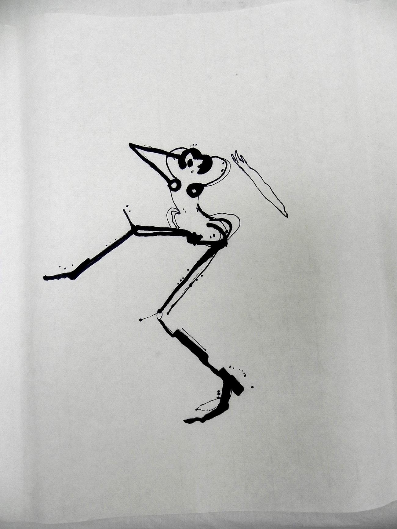 Consecutive Drawings 2B - Isabel Gómez Liebre