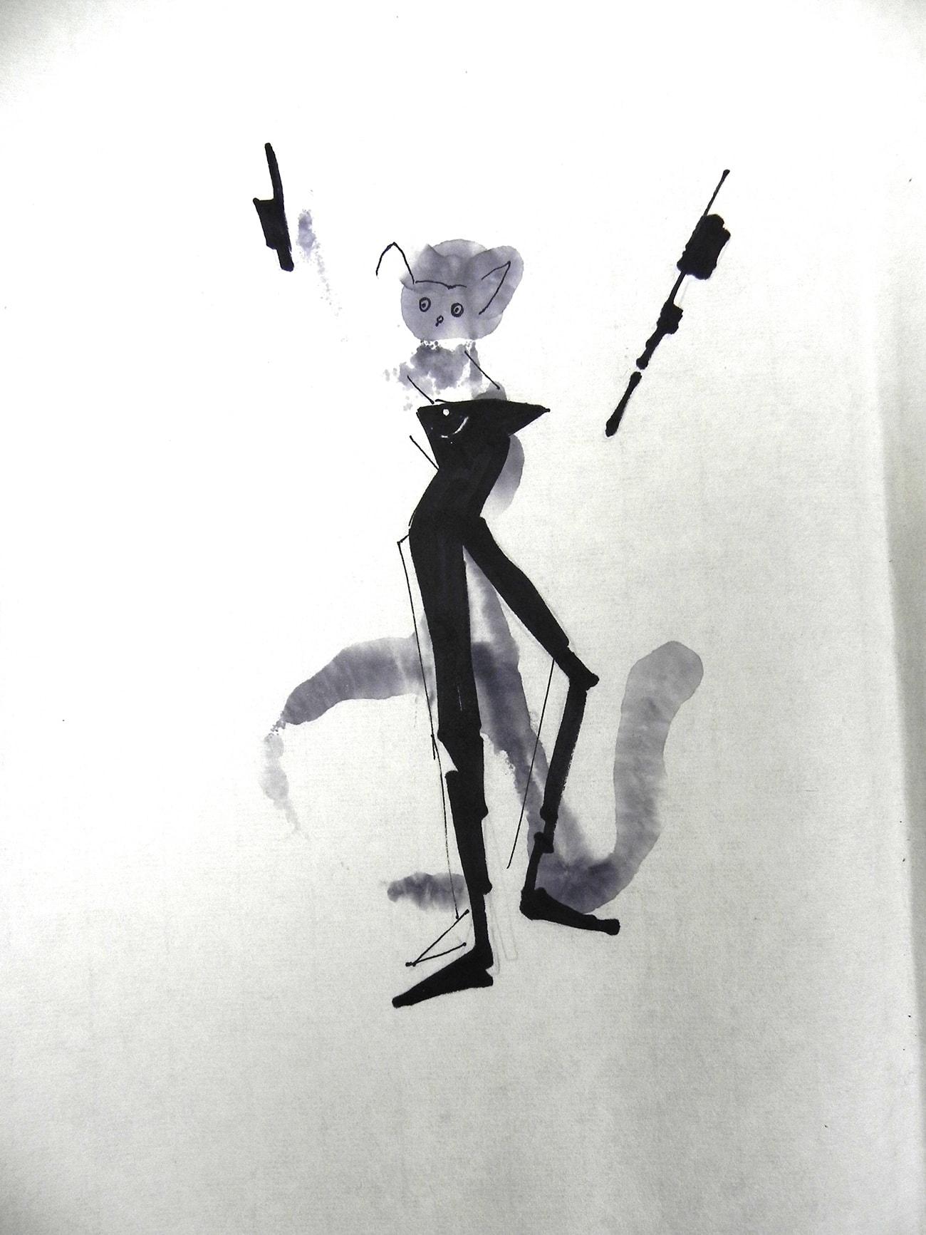 Consecutive Drawings 3E - Isabel Gómez Liebre
