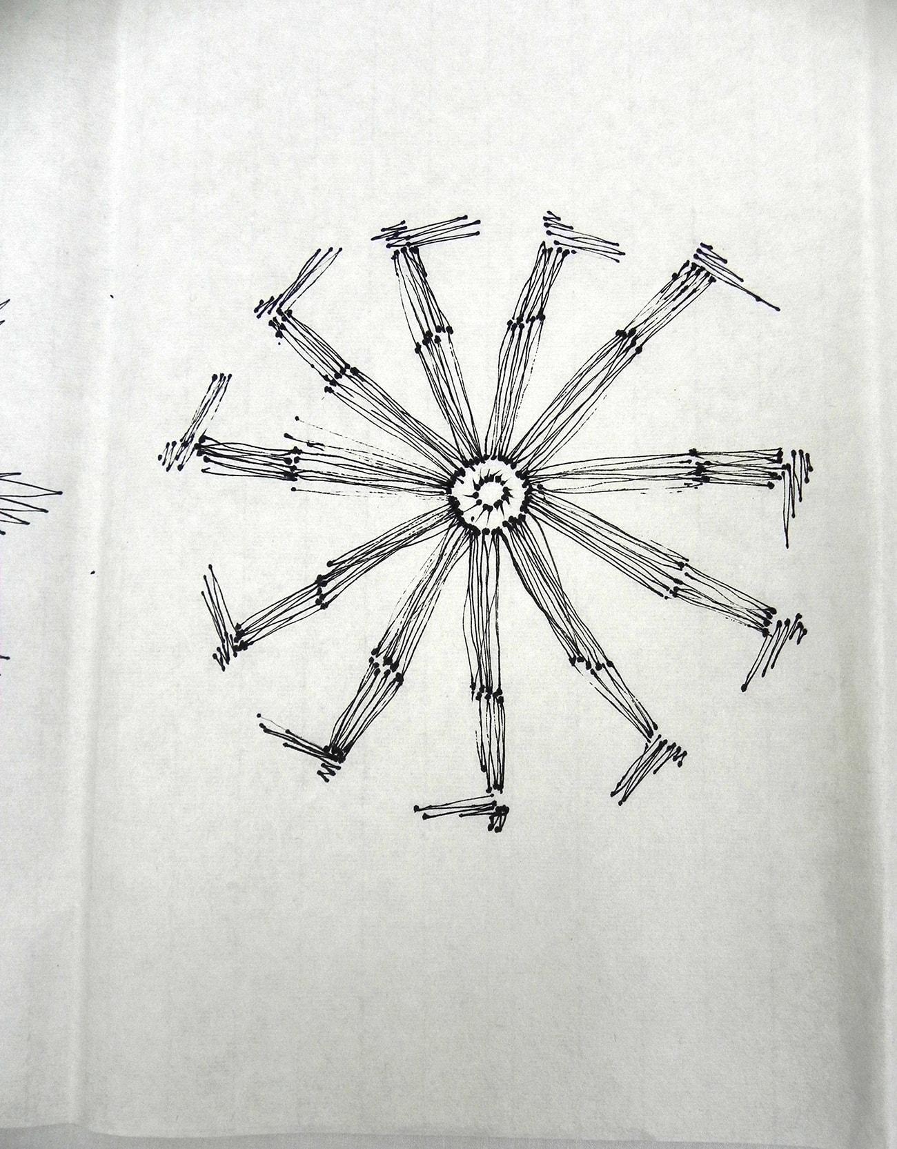 Consecutive Drawings 4D - Isabel Gómez Liebre