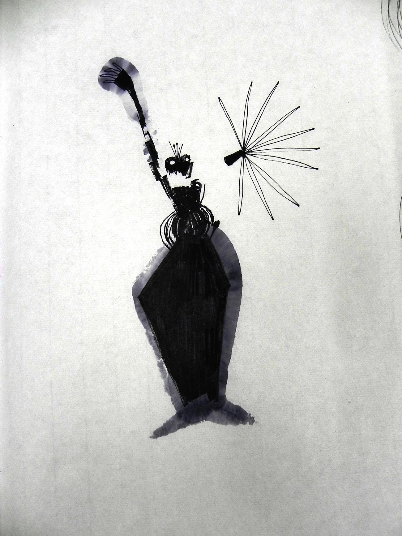 Consecutive Drawings 4E - Isabel Gómez Liebre