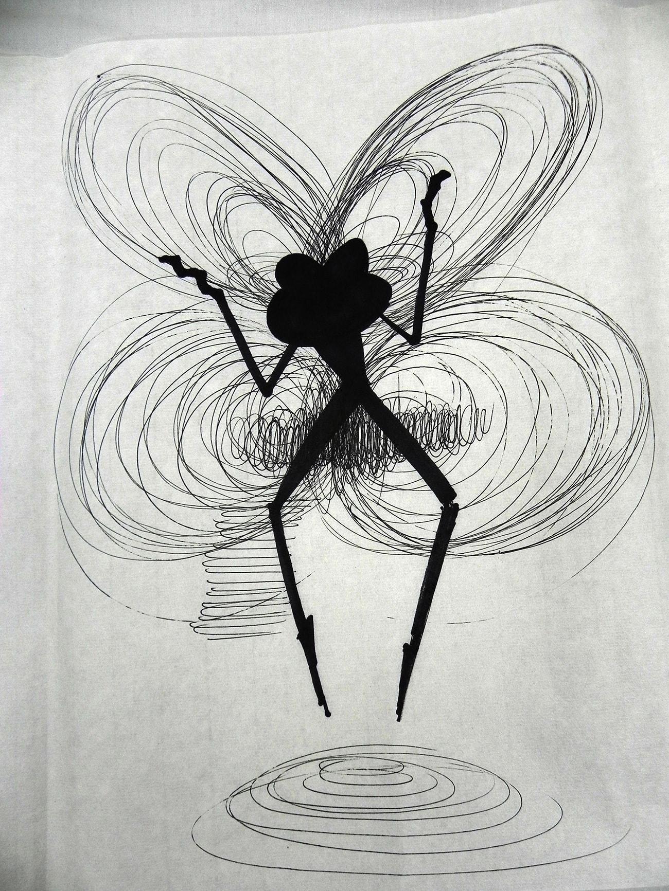Consecutive Drawings 5E - Isabel Gómez Liebre